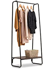 IRIS OHYAMA 愛麗思歐雅瑪 衣架 修身 時尚 玄關 衣物收納 黑色 白色 基本款
