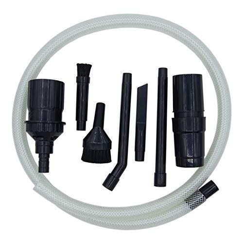 stōbfix Mikrodüsenset Staubsauger 32/35 mm - Zubehörset für Detailreinigung (z.B. PC oder Auto) - 8-teiliges Mini Düsenset - flexibel einsetzbar