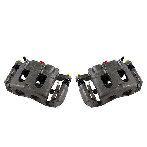 Callahan CCK01520 [2] FRONT Premium Grade OE Semi-Loaded Caliper Assembly Pair Set
