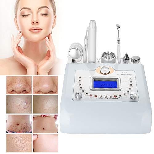 7 dans 1 machine de beauté, anti-vieillissement anti-acné raffermissant pour la peau de corps et de visage, couleur de dépurateur de peau LED haute fréquence(EU)