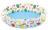 JOVAL® - Piscina Tropical Frutas y Flamenco Infantil, de 122x25 centímetros de diámetro, con Colores Vibrantes para Jardin terraza o casa…