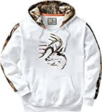 Legendary Whitetails Men's Standard Camo Outfitter Hoodie, Frost, X-Large