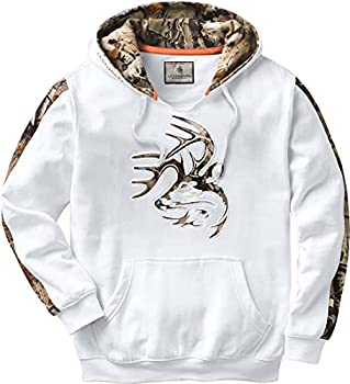 Legendary Whitetails Men s Camo Outfitter Hoodie Frost 5X-Large