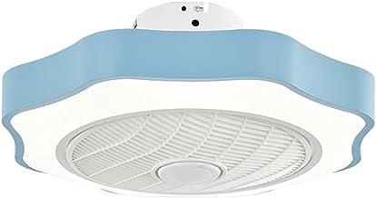 BBZZ Afstandsbediening Ventilatorlicht, Acryl Plafondlampen, Eenvoudige en stijlvolle Kinderkamerverlichting, Eetkamer Pla...