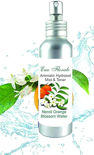 Oranjebloesem Neroli Hydrosol Bloemen Water 100 ml I 3.51 Fl oz 100% NATUURLIJKE Anti-rimpels Rijpe huid Anti Age