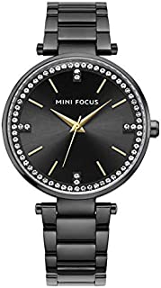 Mini Focus Womens Quartz Watch, Analog Display and Stainless Steel Strap - MF0031L.02
