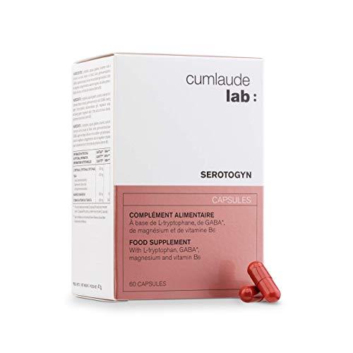 CUMLAUDE Serotogyn - Complemento Alimenticio Para Disminuir Los Sofocos Durante La Menopausia - 60 Cápsulas, One size, 100 ml