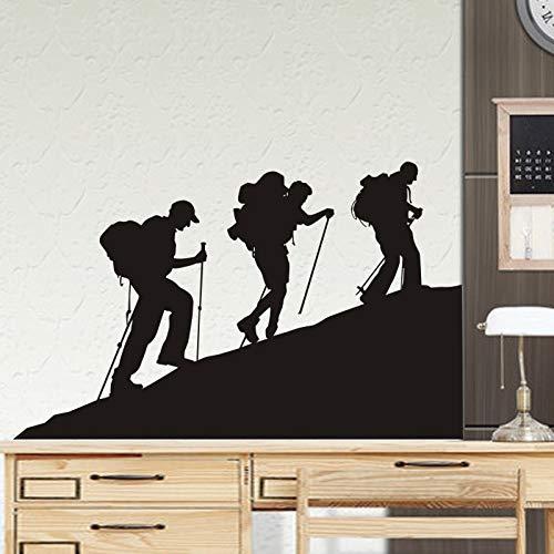 Pegatina de escalada en roca,póster de deportes extremos,pegatina de vinilo para pared, decorativo de golpes,elegir,pegatina de fondo de escalada en roca,A1 58x81cm