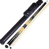 YJTQG 1/2スプリットビリヤードキュー、58インチ19-19.5オンスメープルプールキュー、12.75mmチップ、グリップ直径21-22mm / A/Rod barrel 2