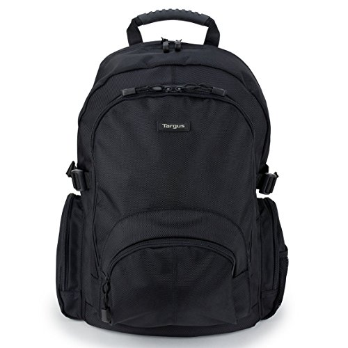 Targus Classic Business Professional Travel and Commuter Backpack for 15.6-Inch Laptop, Black (CN600)