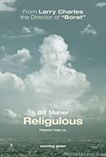 Religulous Movie Poster 24x36in bill maher