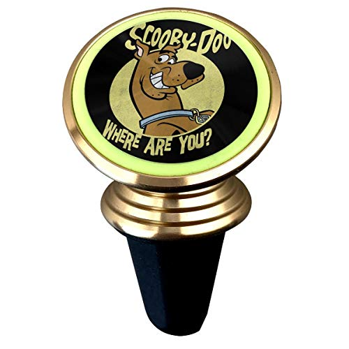 Best Review Of Arsmt Scooby-Doo Luminous Magnetic Car Holder Customized Pattern Printing Rotation Un...