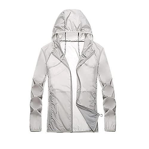 Chaqueta de protección solar de verano deportes ultra delgada con capucha ropa