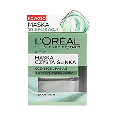 L'OREAL PARIS SKIN EXPERT Pure clay purity mask 50ml from L'Oreal Paris