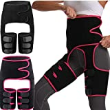 Brace de cadera, Elástico elástico de la cadera estabilizador de la cadera Soporte de la correa de la protección del muslo Protección contra el esfuerzo del muslo de la palanca protectora de la pierna