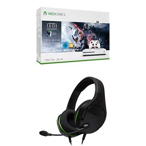 Star Wars Jedi: Fallen Order - Xbox One + HyperX HX-Hscsx-BK/Ww Cloud Stinger pour Xbox - Casque Gaming