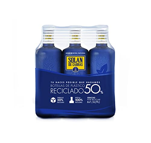 Solán De Cabras Agua, 6 x 1.5L