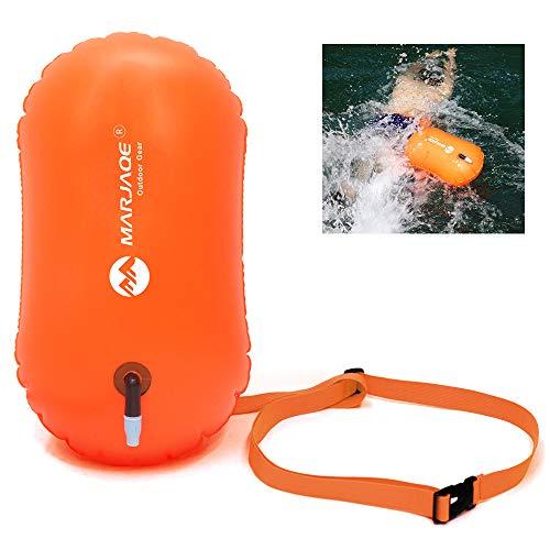 Honelife Saco de natação inflável Airbag Waterproof PVC Swimming Snorkeling Life Boia Float Bag