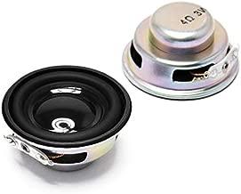 Gikfun 4Ohm 40mm Diameter 3W Full Range Audio Speaker Stereo Woofer Loudspeaker for Arduino (Pack of 2pcs) EK1794