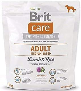 Brit Care pour Adulte Medium Breed Nourriture pour Chien, Agneau et Riz, 1kg