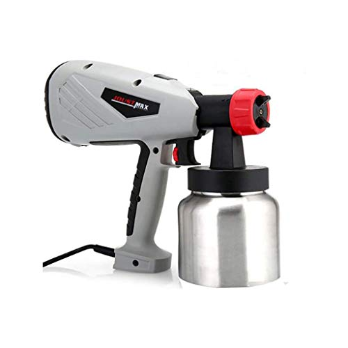 WSMLA Paint Sprayer 800 Watt High Power Home Electric Spray Nozzle Lightweight Easy Spraying and Cleaning High-Pressure Airless Electric Spray Paint Sprayers for Painting Cars Wood