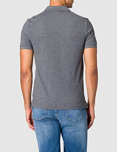 Lacoste Men's PH4012 Polo Shirt, Black (Eclipse Jaspe E8g), Medium