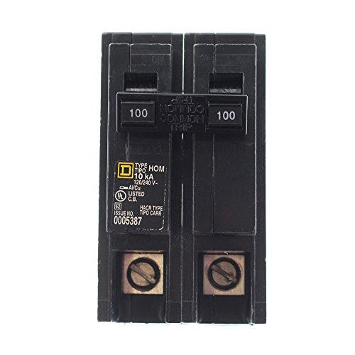 Square D Hom2100 2P-120/240V-100A Cb