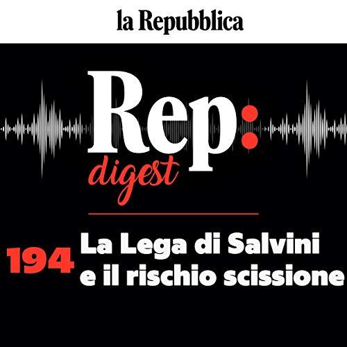 Couverture de La Lega di Salvini e il rischio scissione