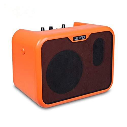Gitarren Zubehör MA-10-Gitarrenverstärker Mini Bluetooth-Lautsprecher for Akustikgitarre E-Bass Modul arduino ( Color : Orange )