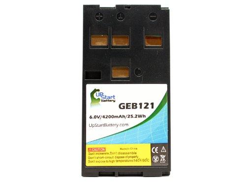 Repuesto Leica TCR405–Batería para Leica GEB121instrumento de encuesta recargable (4200mAh, 6V, NiMH)