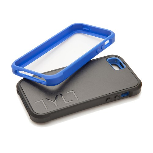 Tylt IP5BPRSBL-T BUMPR Protective Case for iPhone 5 - Three Cases in one - Retail Packaging - Black
