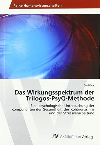 Das Wirkungsspektrum der Trilogos-PsyQ-Methode: Eine psychologische Untersuchung der Komponenten der Gesundheit, des Kohärenzsinns und der Stressverarbeitung