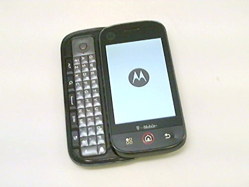 Motorola CLIQ MB200 Android Quadband GSM Mobile Cell Phone with QWERTY Keyboard (T-Mobile)