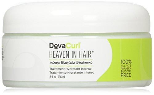 Deva Masque d'hydratation intensive Curl Heaven In Hair - Enrichi d'extraits de plantes du Brésil - 235 ml