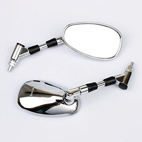2x Rétroviseur Miroir convient pour YAM FZ 6 S2 Fazer 2007 2008 1B3 26290 10