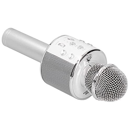 Micrófonos inalámbricos, Altavoz de alta potencia Micrófono de karaoke de larga duración Uso multifunción para principiantes de música para actividades al aire libre