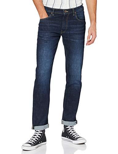 Lee Daren Zip Fly Jeans, Deep Kansas, 42W x 34L para Hombre