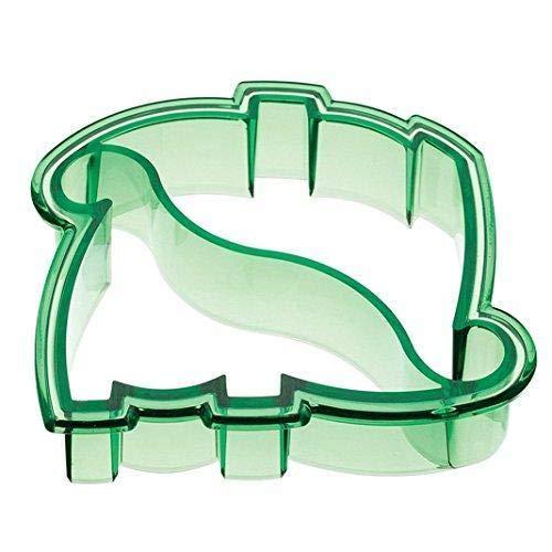 Jeffyo - Molde cortador de tostadas con forma de dinosaurio