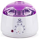 Makartt Hair Removal Machine Hard Hot Wax Warmer Melter Heater Electric Depilatory Waxing 14 oz W-01