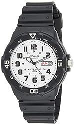 in budget affordable Casio Men's Sports Quartz Resin Watch, Black, 18 (Model: MRW200H-7BV)