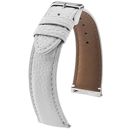 Cinturino in Pelle Orologio, Fullmosa LichiBosin Cinturini Smartwatch, Comaptible con Amazfit/Samsung/Huawei/Casio/Daniel Wellington/Garmin/Oppo, Cinturino per 24mm 22mm 21mm 20mm 19mm 18mm 16mm 14mm