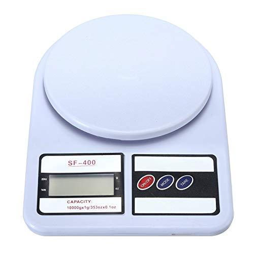 CZXKJ Balanza de Cocina 10 kg Pesas portátiles Digital Inteligente LED electrónico Postal de Escalas del hogar de la Cocina de Ensayos de Seguridad Balanzas de Cocina Peso Digital