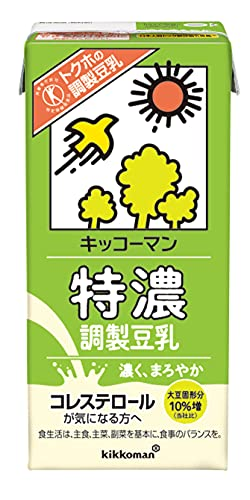 キッコーマン飲料 特濃調製豆乳 1L×6本