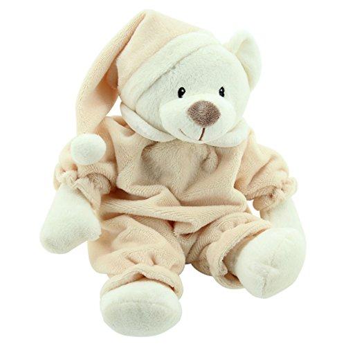 De peluche-Toys 5802 oso de peluche para dormir diseño de oso de peluche Sleepy 31 cm colour marrón claro