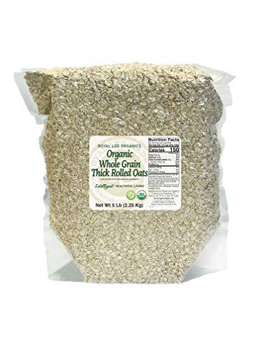 Royal Lee Organics by Standard Process Organic, Gluten-Free Thick Rolled Oats, 5lb bag