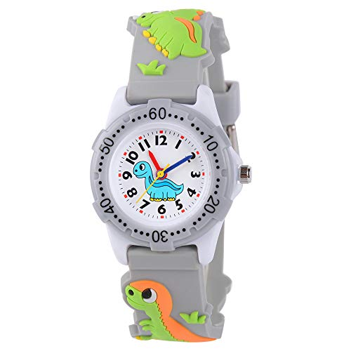 Product Image of the Venhoo Kids Watches Cute 3D Cartoon Waterproof Silicone Children Toddler Wrist...