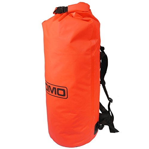 Lomo Dry Bag Large Roll Top Rucksack 60L - Red