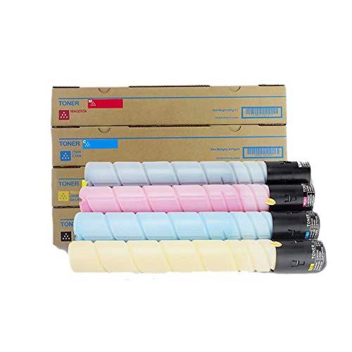 Kompatibel Konica Minolta TN221 Tonerkartusche für Konica Minolta Bizhub C227 287 C7528 Kopierer Toner, 4 Farben BK: 10000 Seiten, CMY: 5000 Seiten