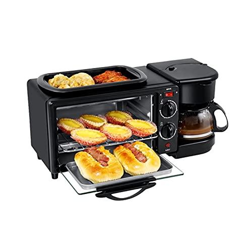 Forno Elettrico Compatto Breakfast Macchina elettrica cottura da forno forno arrosto forno grill multifunzione caffè macchinetta pizza forno uovo omelette frittura pannello tostapane