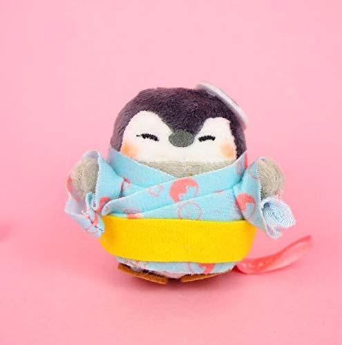 yitao Plüschtier 1 Pc Kreative Cartoon Bademantel Kimono Pinguin Plüsch Spielzeug schöne Paare Schule Taschen Anhänger Gefüllte Plüsch Tiere Spielzeug Geschenk